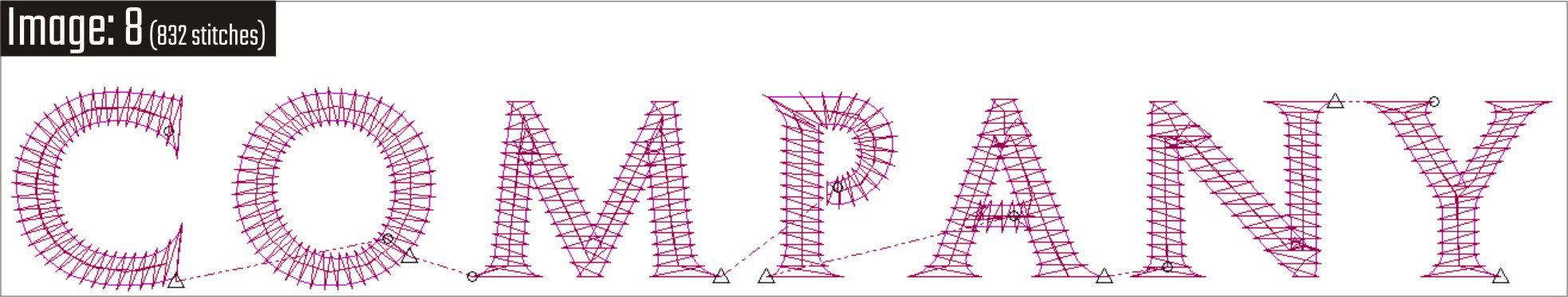 colorbox embroidery digitizing With digitizing small letters